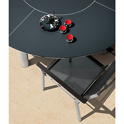 Buy Barlow Tyrie Equinox Round 8 Seater Outdoor Dining Table with Lazy Susan, Slate Grey Online at johnlewis.com
