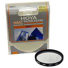 Buy Hoya UV Lens Filter, 49mm Online at johnlewis.com
