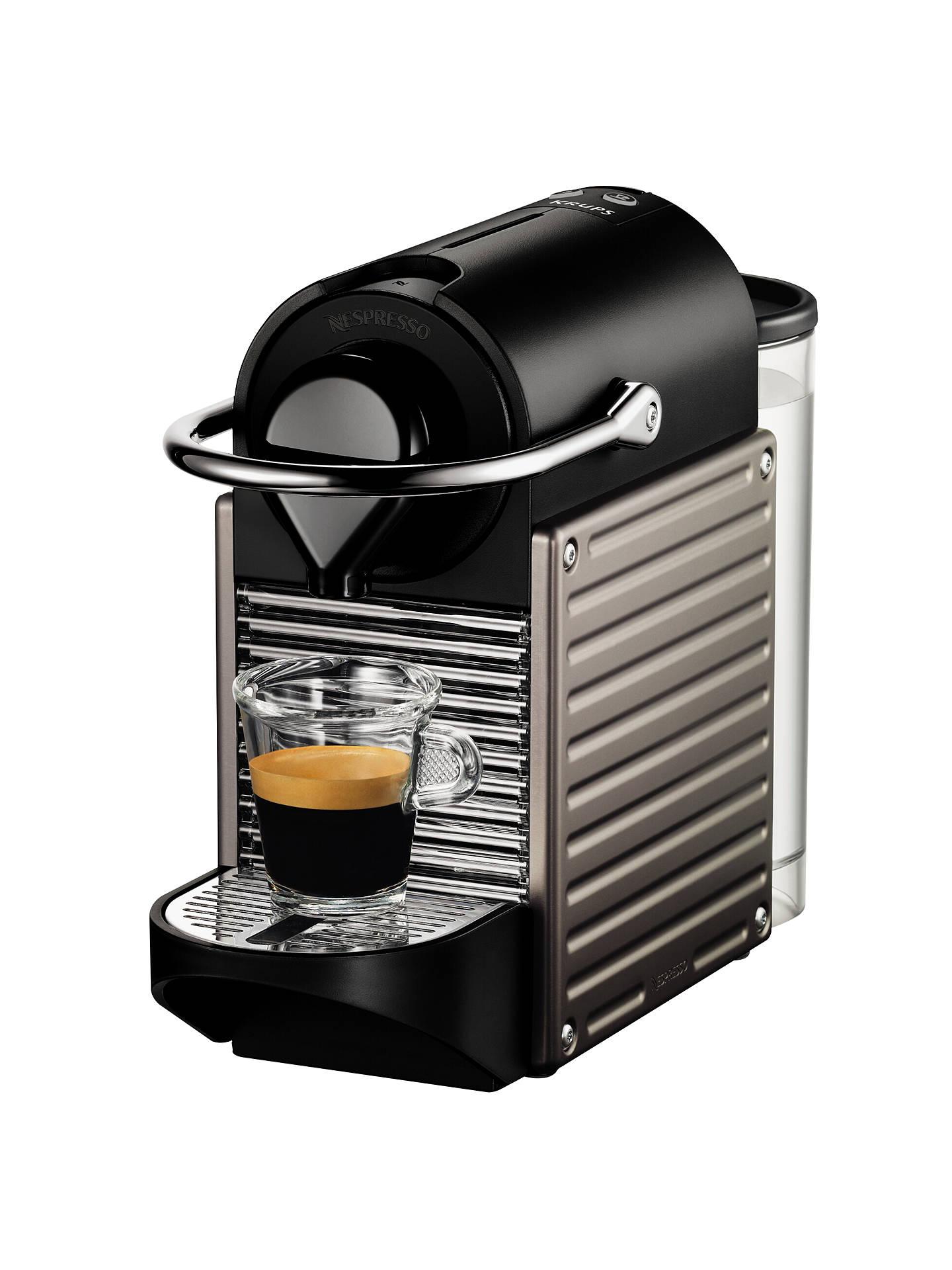 Nespresso Pixie Automatic Coffee Machine By Krups At John