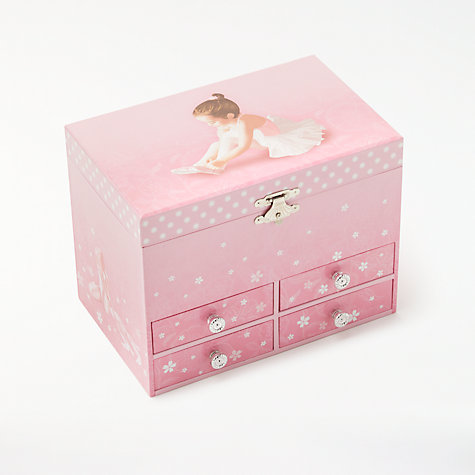 Buy John Lewis Ballerina Musical Jewellery Box, Large Online at johnlewis.com