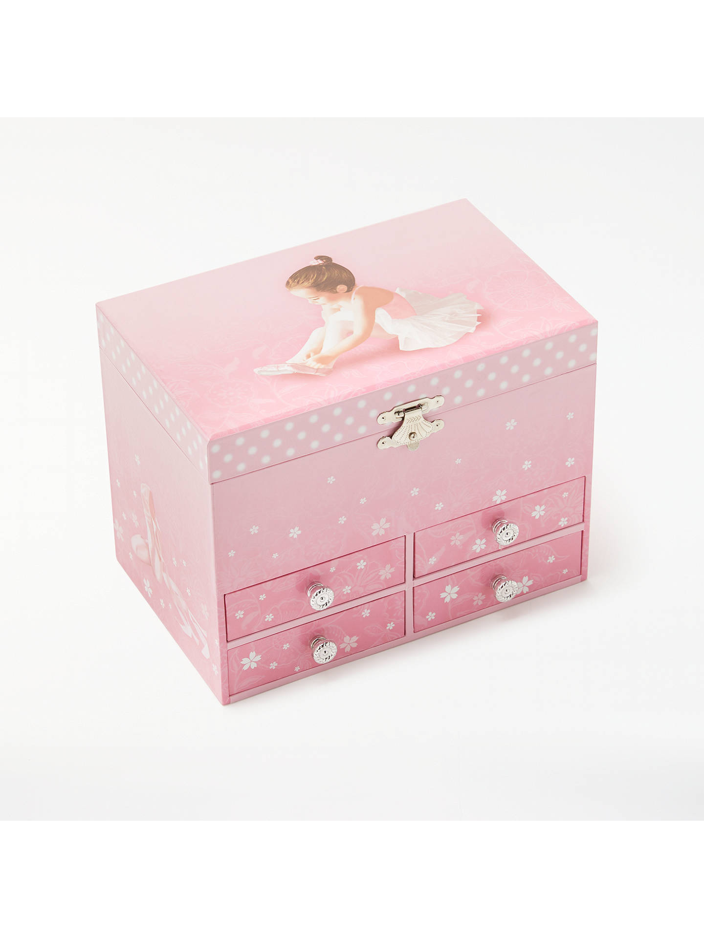 John Lewis Partners Ballerina Musical Jewellery Box Large