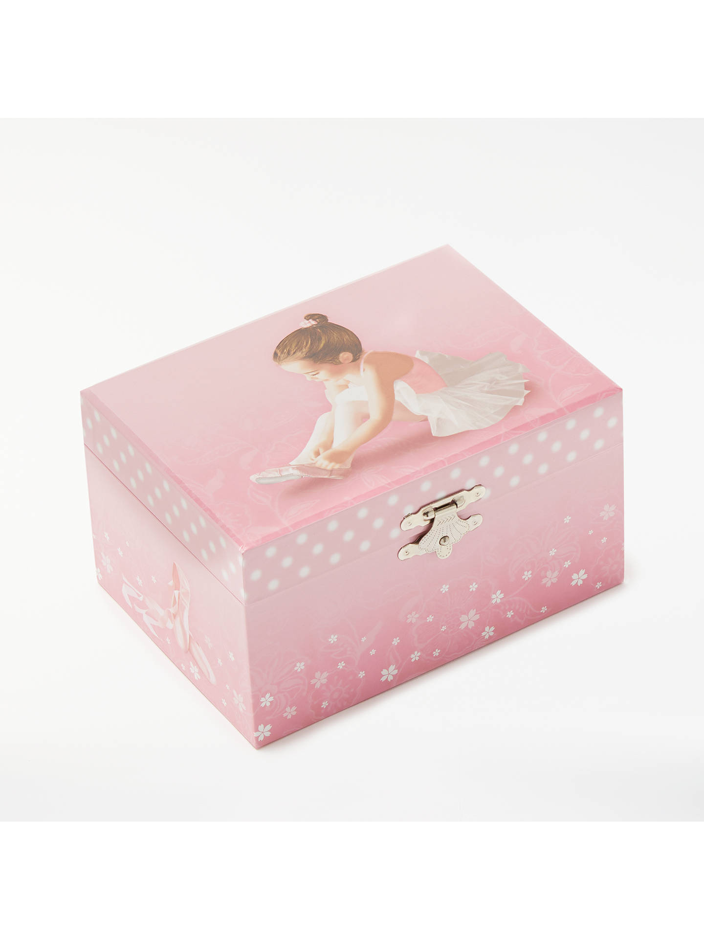 John Lewis Partners Ballerina Musical Jewellery Box Small