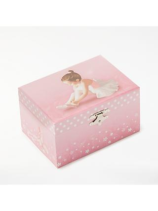 John Lewis & Partners Ballerina Musical Jewellery Box, Small