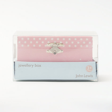 Buy John Lewis Ballerina Musical Jewellery Box, Small Online at johnlewis.com