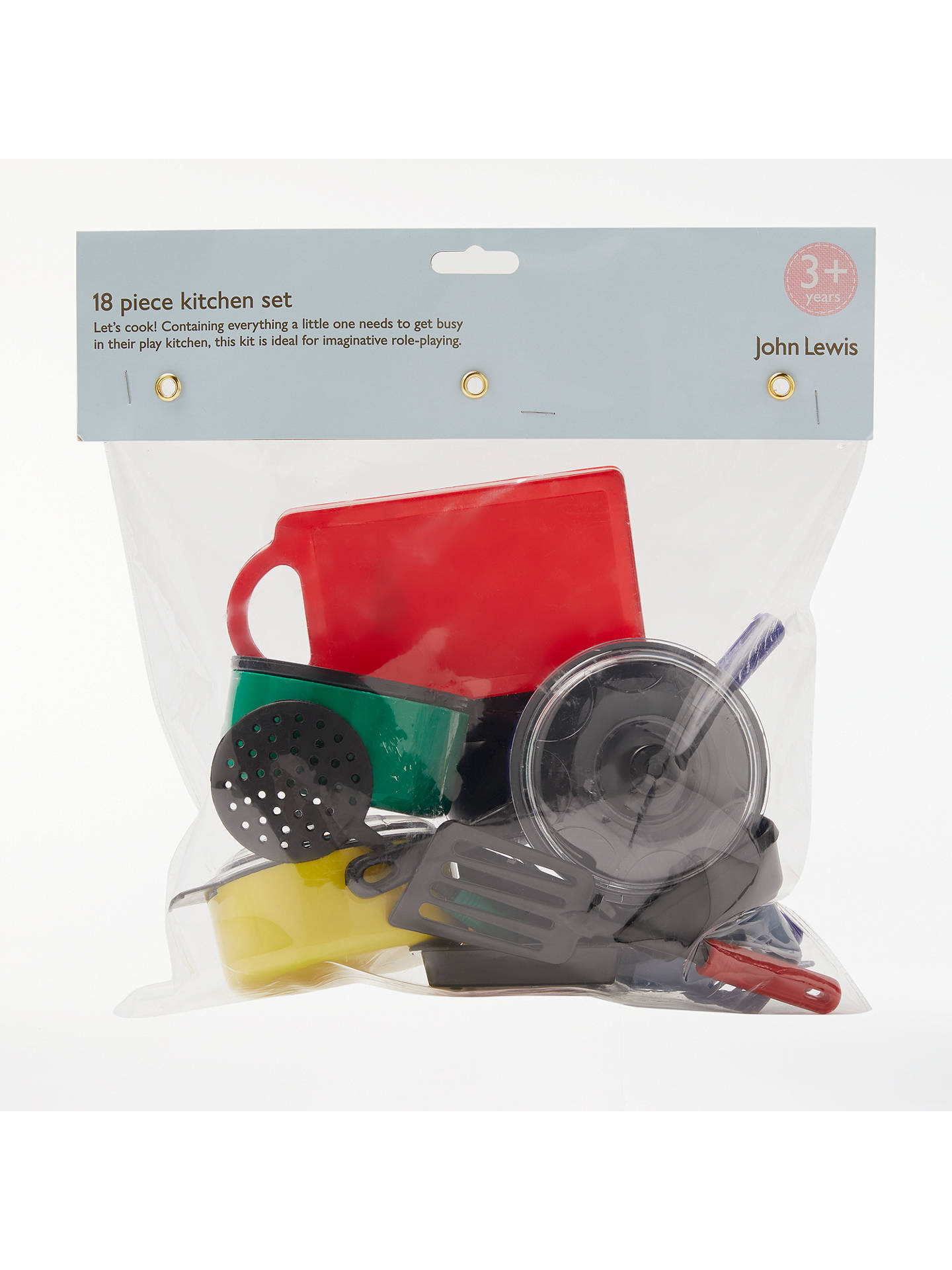 Buy John Lewis & Partners Kitchen Playset Online at johnlewis.com