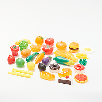 John Lewis Play Food Set