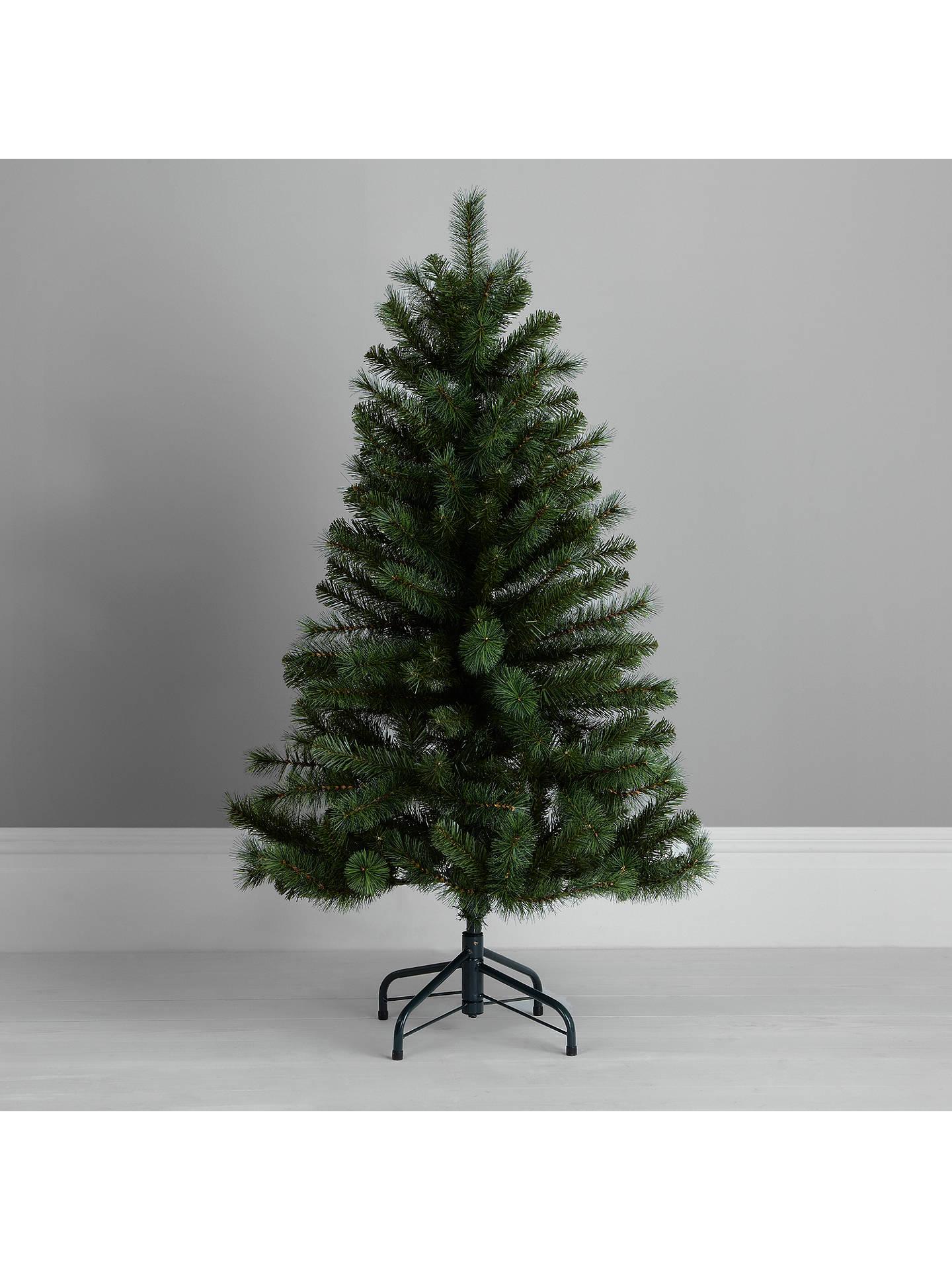 4ft Christmas Tree.John Lewis Partners Fireside Christmas Tree Green 4ft