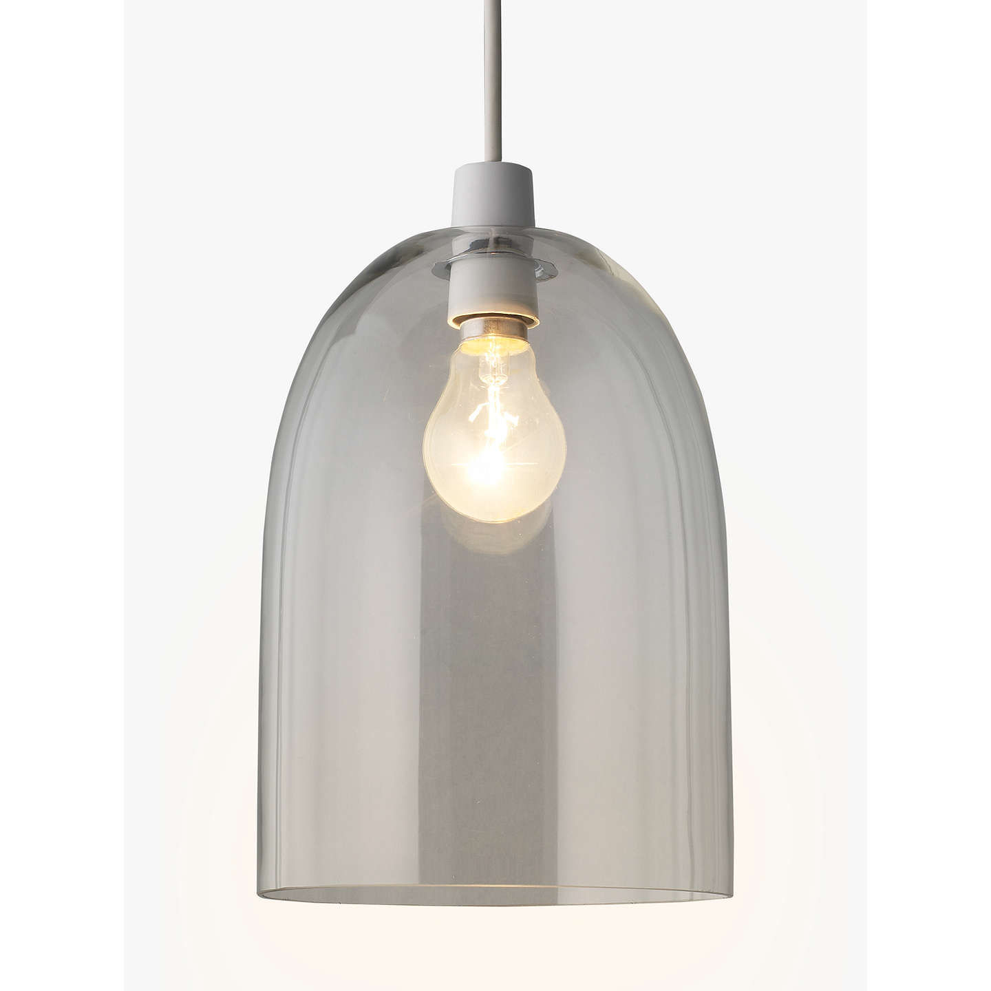 BuyJohn Lewis Easy-to-fit Madison Glass Pendant Shade Online at johnlewis.com