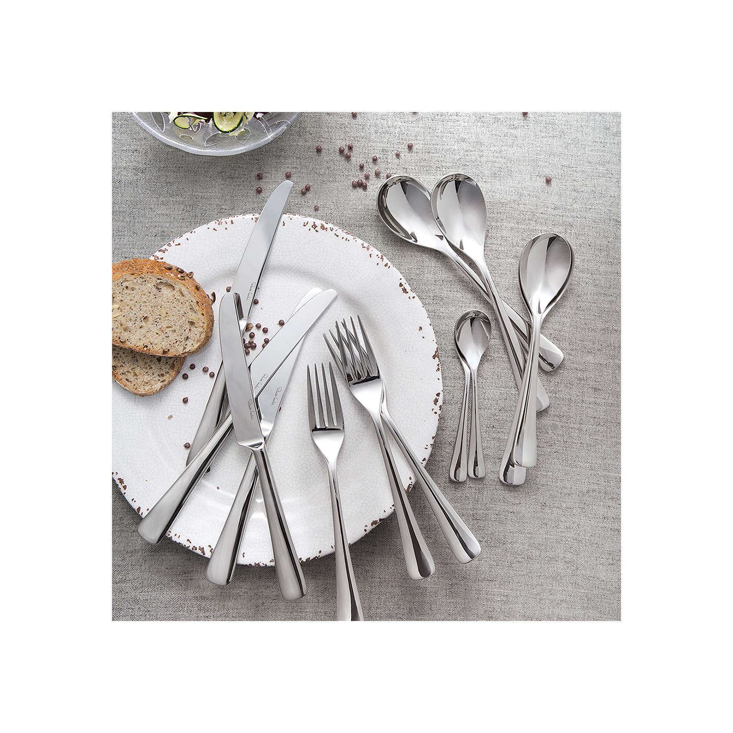 BuyRobert Welch Malvern Cutlery Set, 24 Piece Online at johnlewis.com