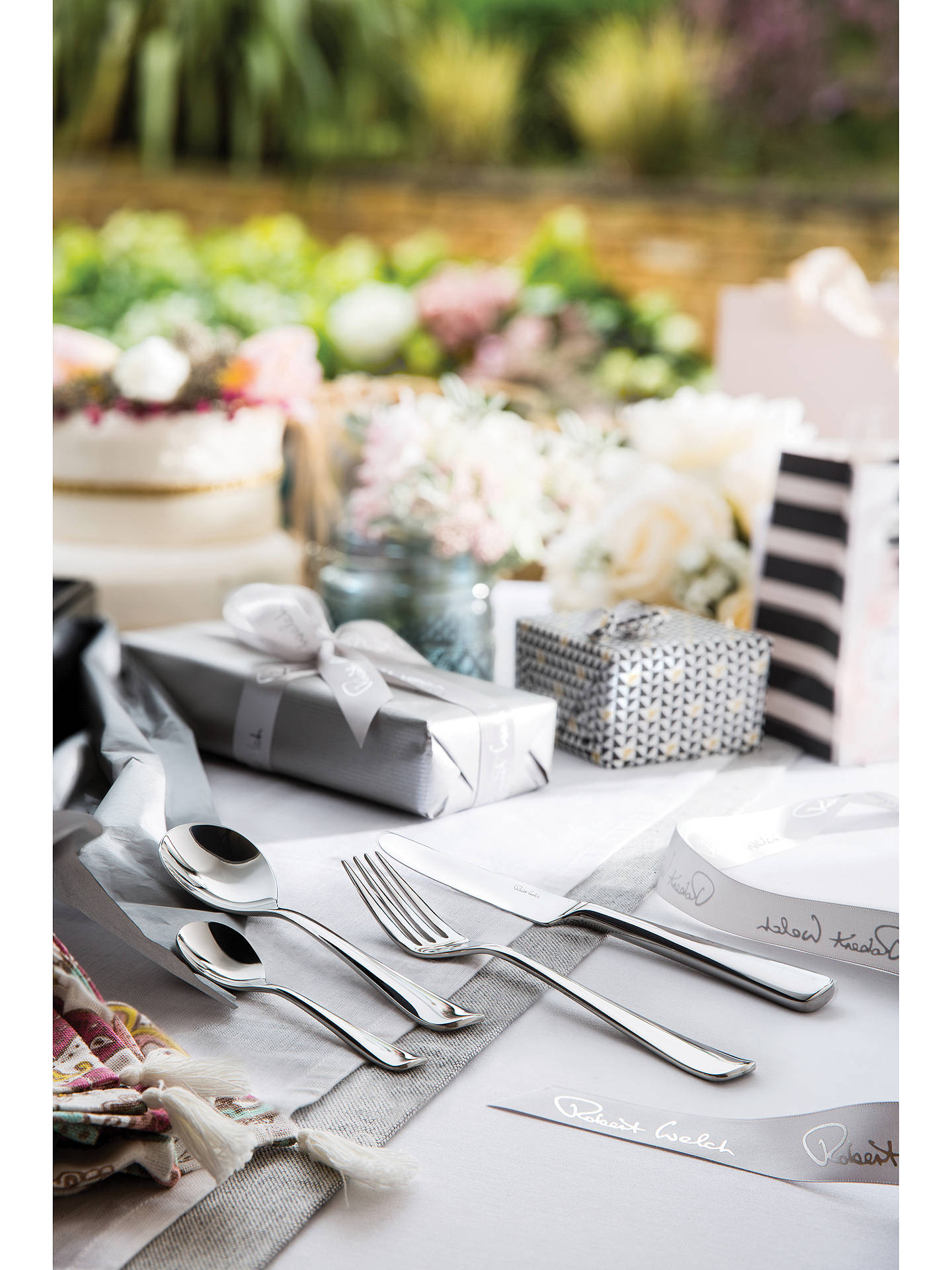 Buy Robert Welch Malvern Cutlery Set, 24 Piece/6 Place Settings Online at johnlewis.com