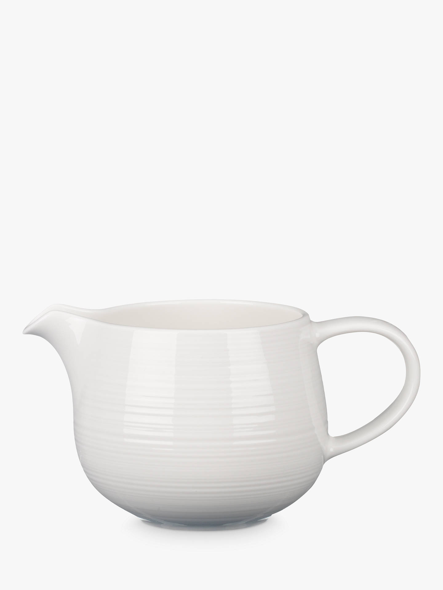 Buy Croft Collection Luna Sauce Boat, Natural Online at johnlewis.com