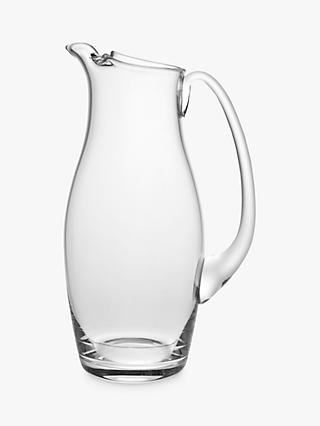 John Lewis & Partners Connoisseur Glass Jug, 1.5L, Clear