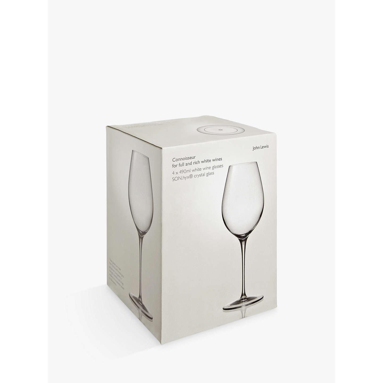 john lewis connoisseur wine glasses set of 4 at. Black Bedroom Furniture Sets. Home Design Ideas