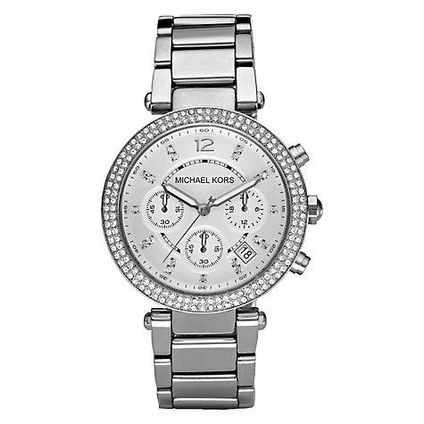 Buy Michael Kors Mk5353 Women S Parker Chronograph