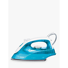 Buy Bosch TDA2633GB Steam Iron, Blue Online at johnlewis.com