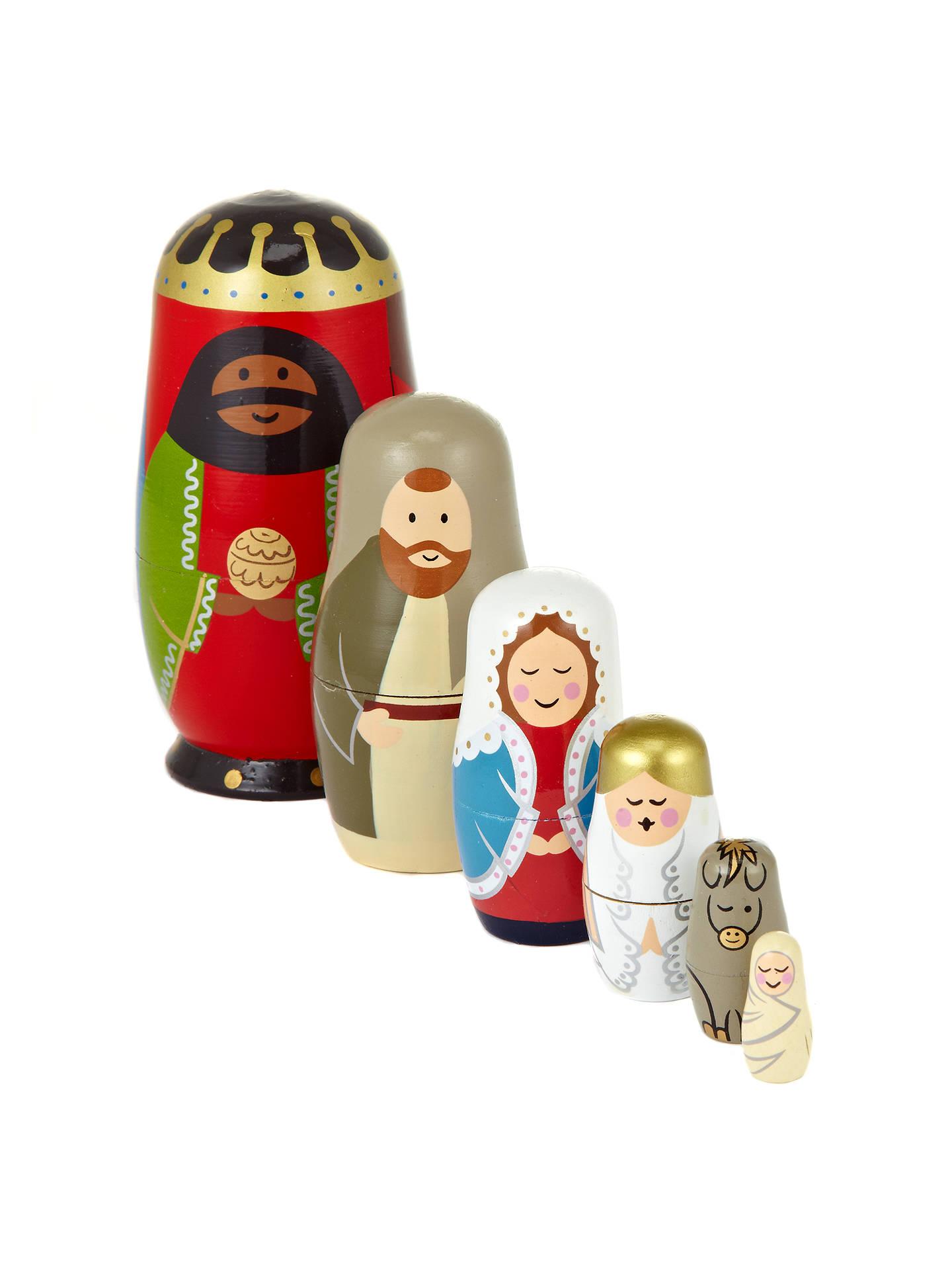 3245c3f18162 Buy John Lewis Nativity Scene Russian Dolls Online at johnlewis.com ...