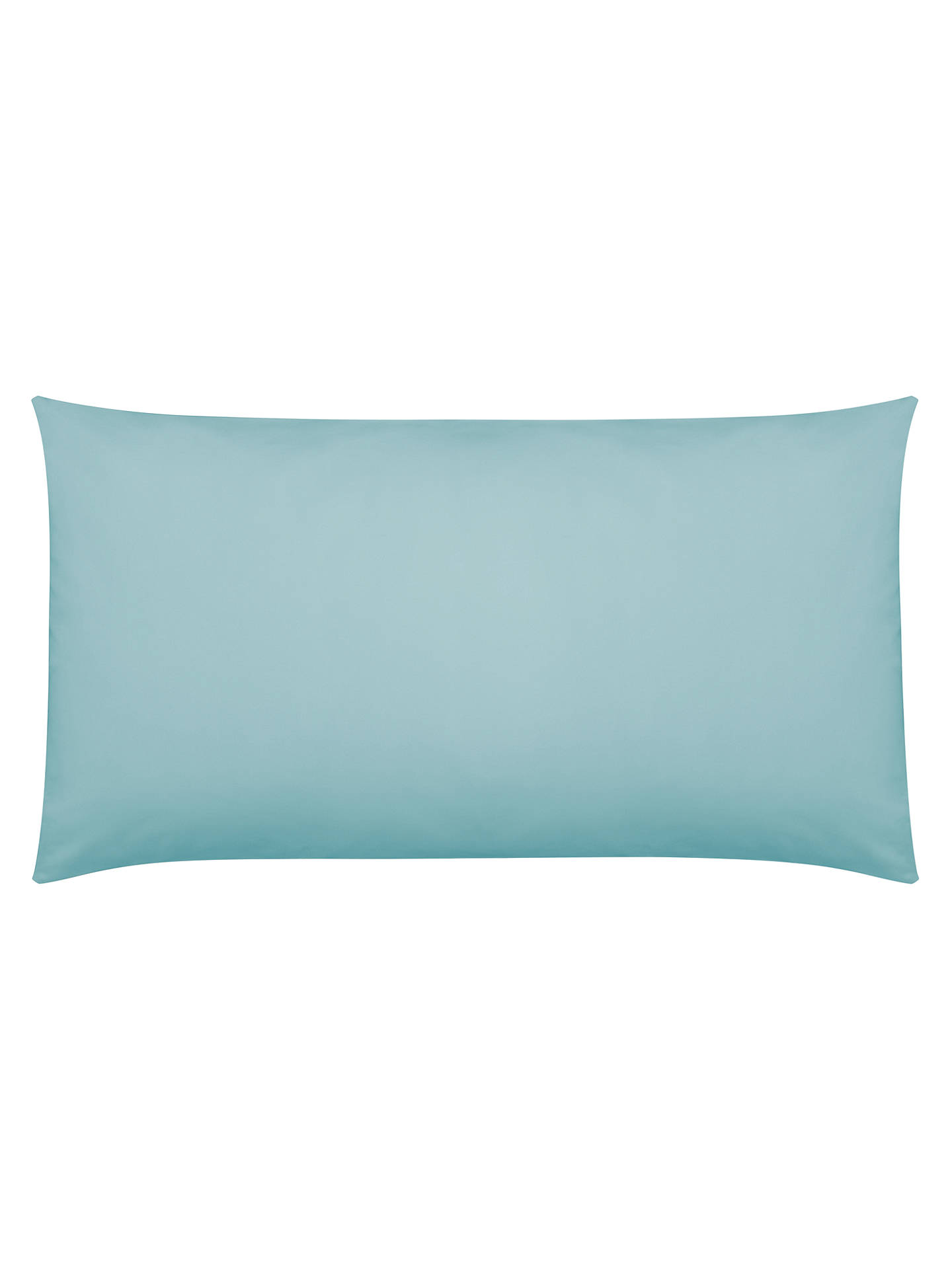 Buy John Lewis & Partners Crisp and Fresh 200 Thread Count Egyptian Cotton Square Oxford Pillowcase, Duck Egg Online at johnlewis.com