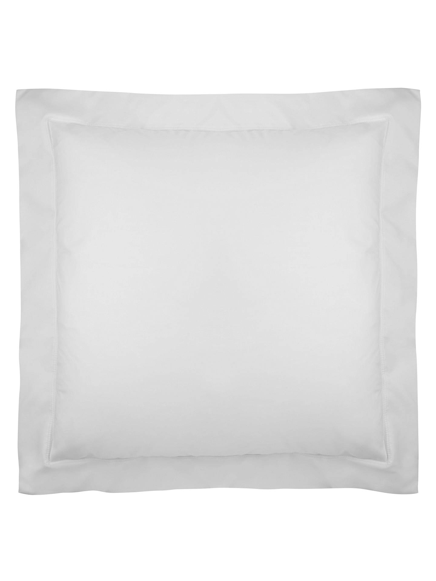 BuyJohn Lewis & Partners Crisp and Fresh 200 Thread Count Egyptian Cotton Standard Pillowcase, White Online at johnlewis.com