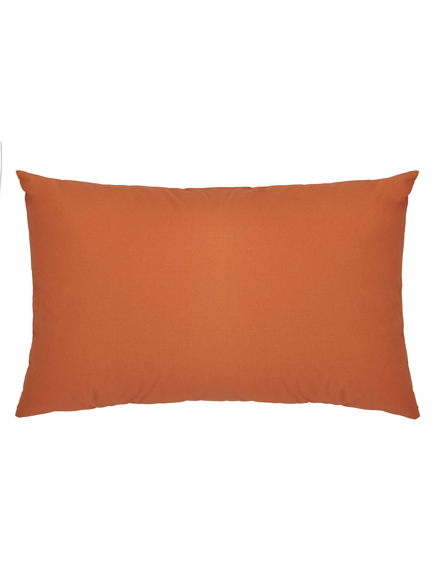 Buy John Lewis & Partners Crisp and Fresh 200 Thread Count Egyptian Cotton Oxford Pillowcase, Clementine Online at johnlewis.com