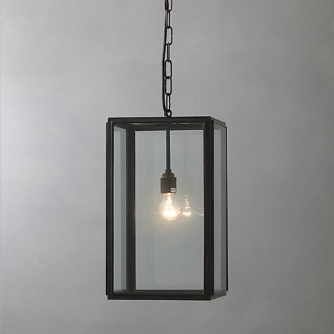 Buy Davey Lighting Square Indoor Pendant Large Online At Johnlewis