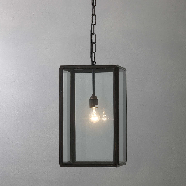 Davey Lighting Square Indoor Pendant Large Online At Johnlewis