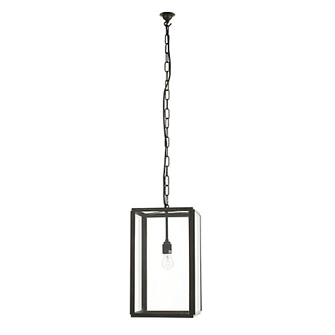 Buy Davey Lighting Square Indoor Pendant, Large Online at johnlewis.com