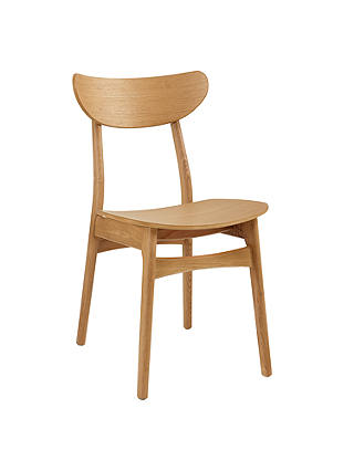 Buy House by John Lewis Ken Dining Chair, Oak Online at johnlewis.com