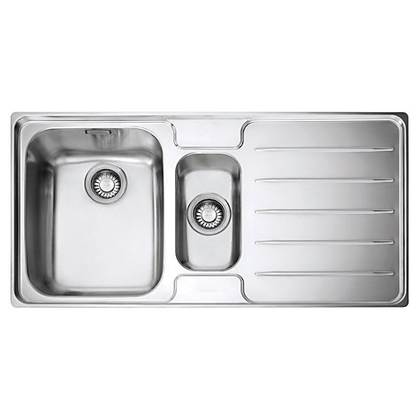 Buy Franke Laser LSX 651 1.5 Kitchen Sink with Left Hand Bowl ...