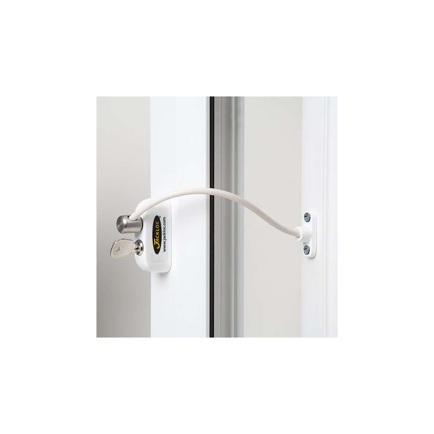 BuyJackloc Window Restrictor, White Online at johnlewis.com