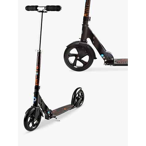 Buy Micro Scooter, Adult, Black Online at johnlewis.com