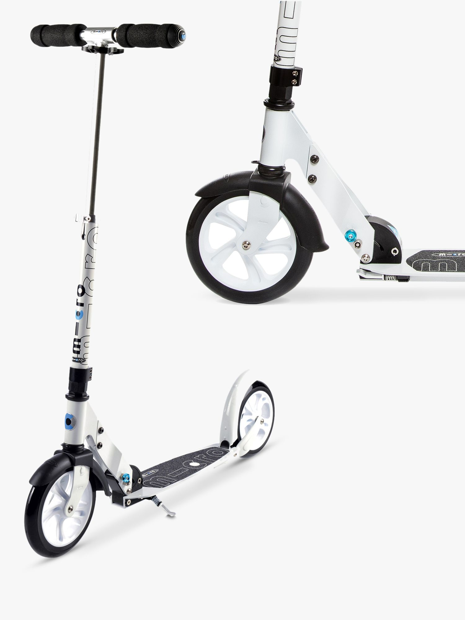 Micro Micro Scooter, Adult, White