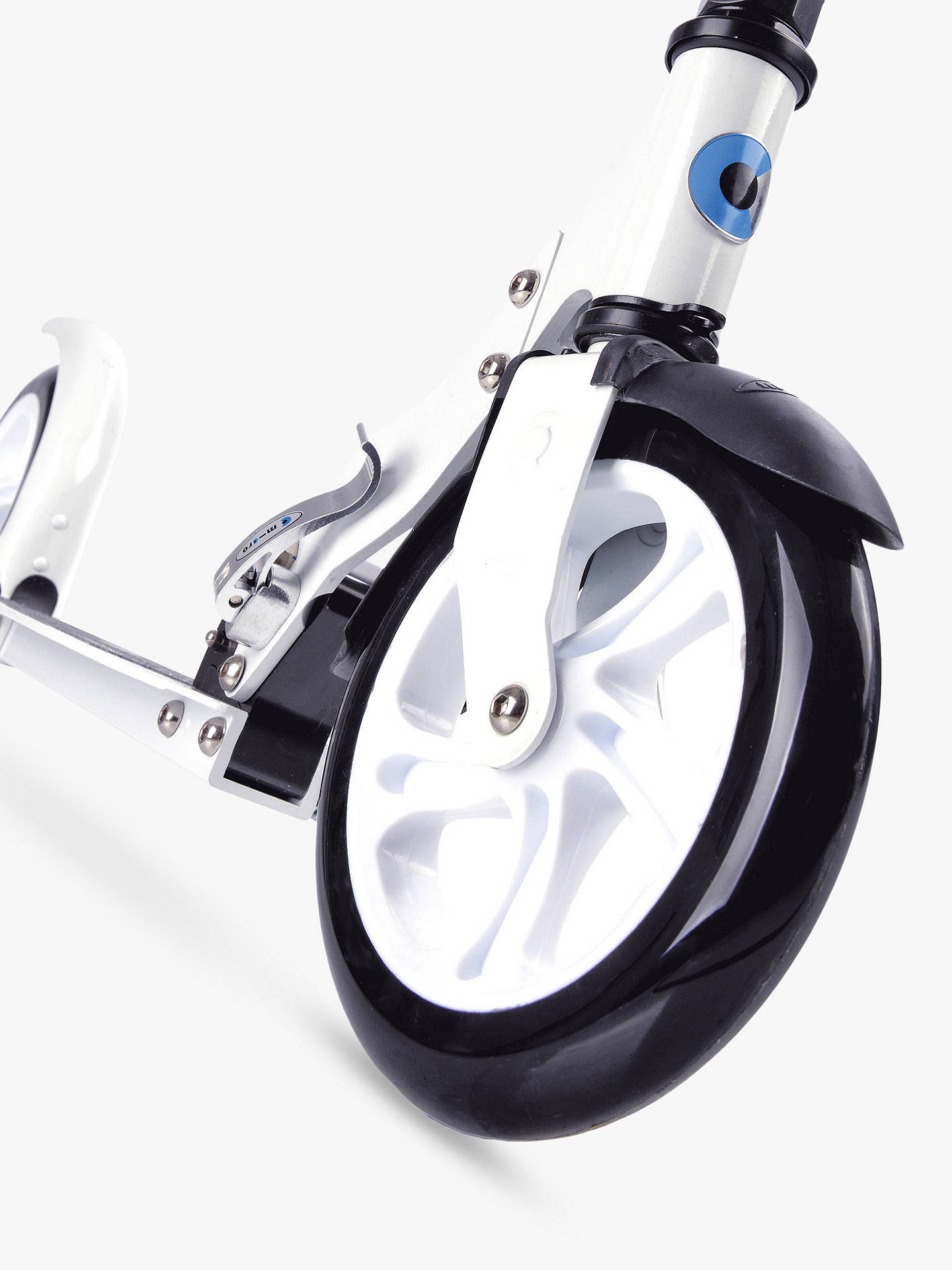 BuyMicro Scooter, Adult, White Online at johnlewis.com