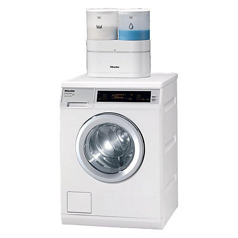 Buy Miele W5000 Supertronic Freestanding Washing Machine, 8kg Load, A+++ Energy Rating, 1600rpm Spin, White Online at johnlewis.com