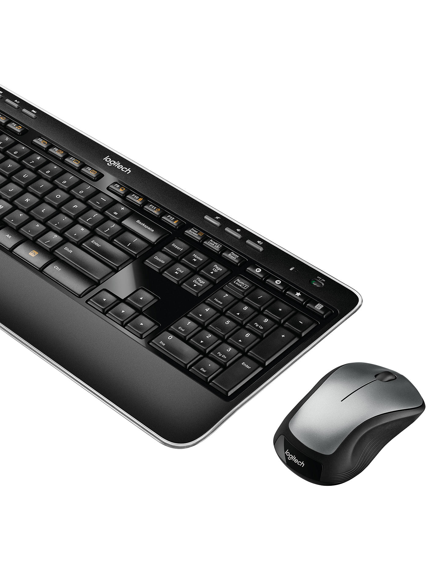 BuyLogitech MK520 Wireless Keyboard and Mouse Combo Online at johnlewis.com