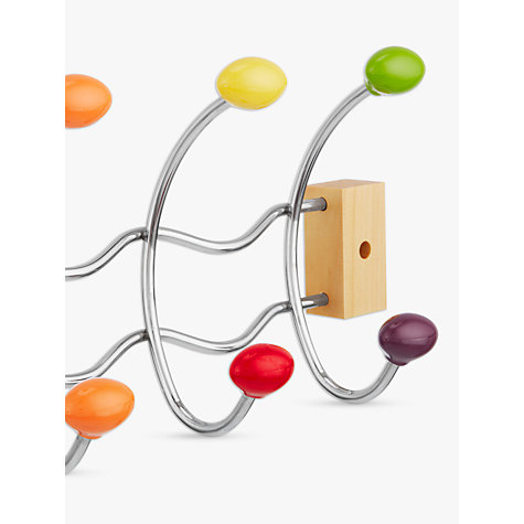 Buy John Lewis Ball Hook Coat Hanger, Multi Online at johnlewis.com