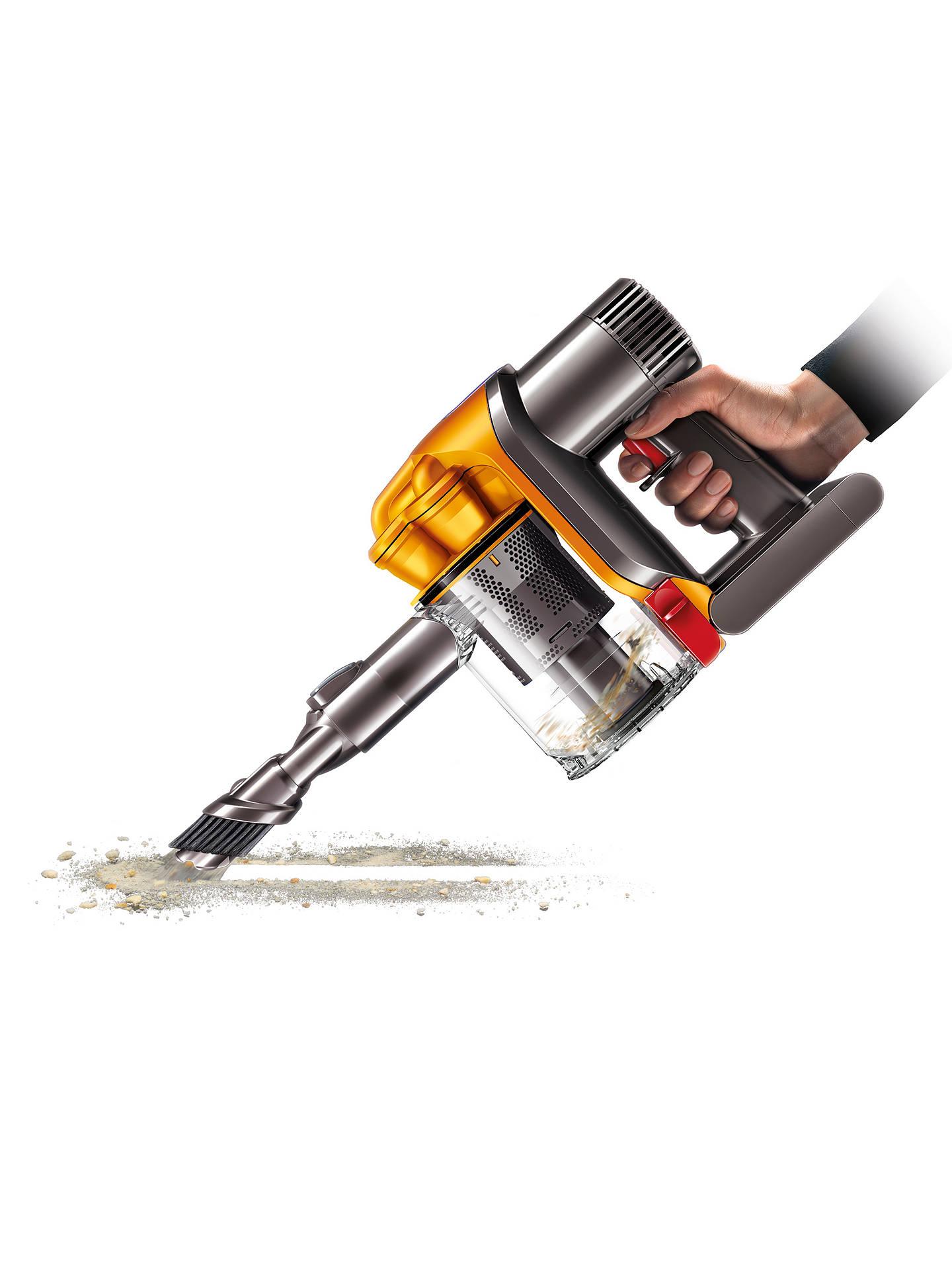 Dyson Dc34 Handheld Vacuum Cleaner Yellow At John Lewis