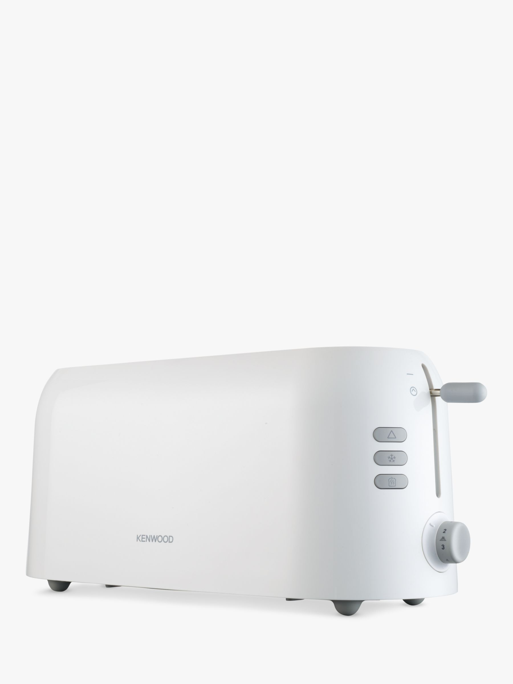 Kenwood Kenwood TTP210 4-Slice Long Toaster, White