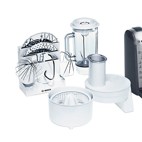 Buy Bosch MUM46A1GB Food Mixer, Silver Online at johnlewis.com