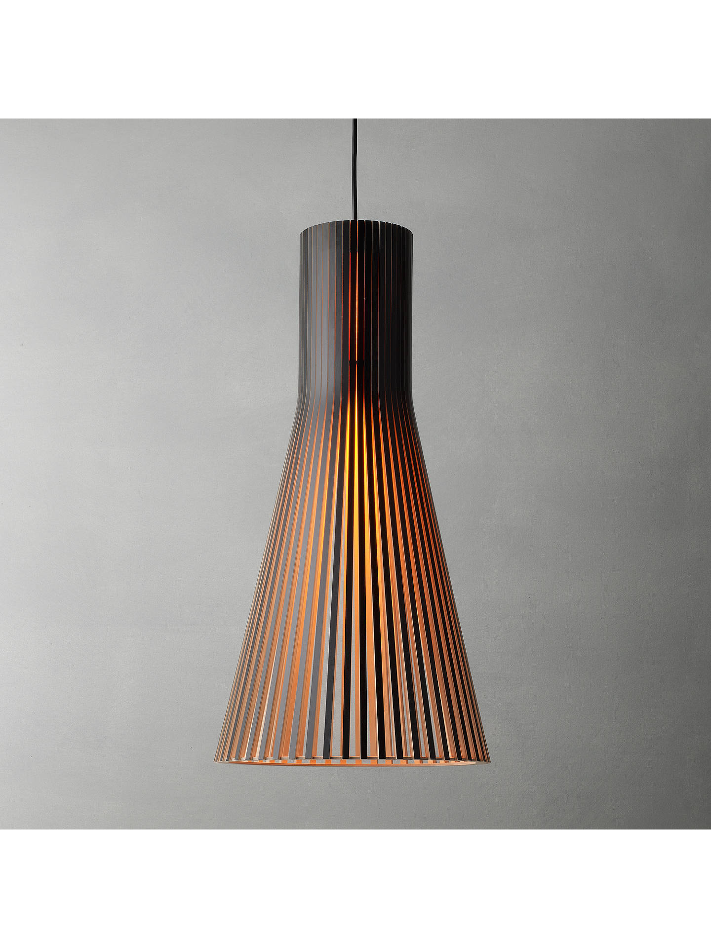 Buy Secto 4200 Ceiling Light, Black Online at johnlewis.com