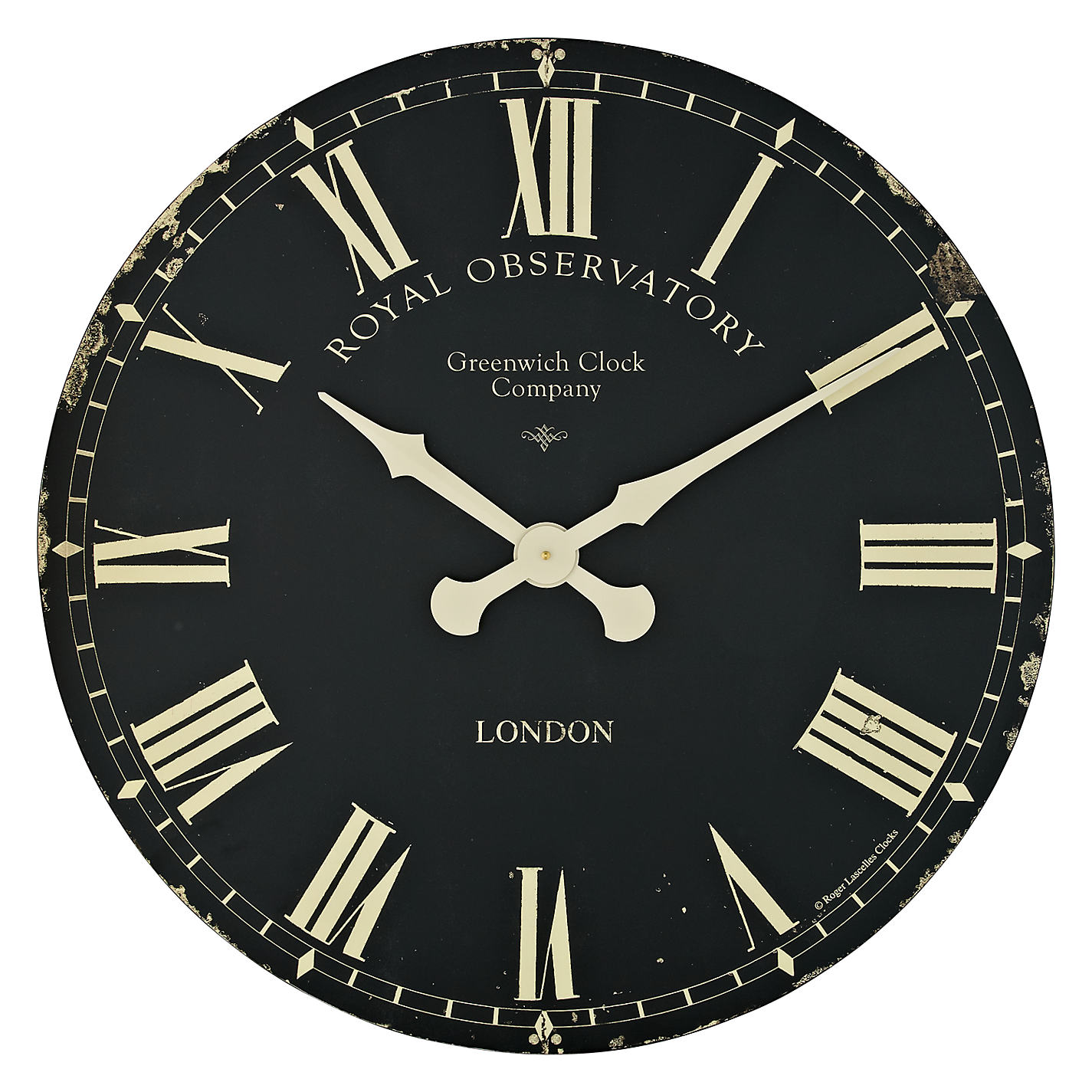 Buy lascelles greenwich clock dia70cm black john lewis buy lascelles greenwich clock dia70cm black online at johnlewis amipublicfo Gallery