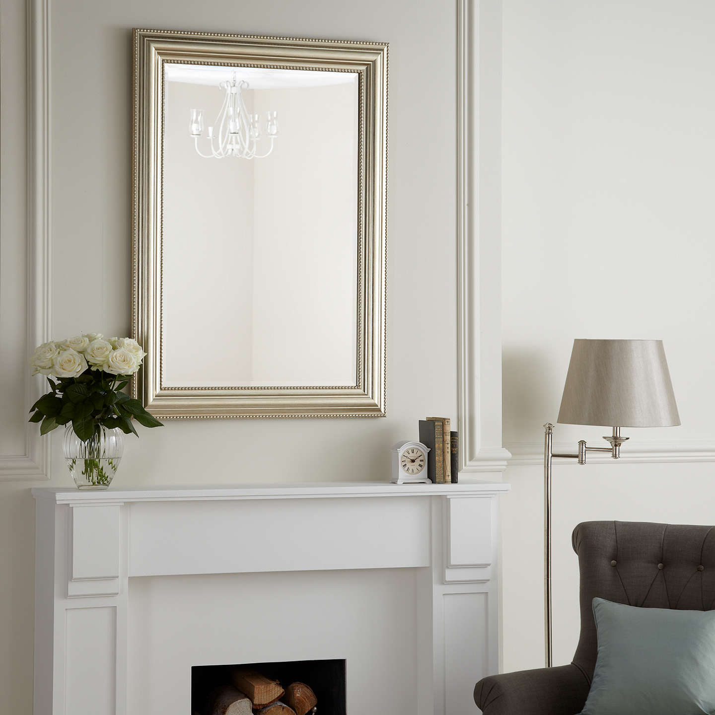 john lewis bead mirror champagne 110 x 79cm at john lewis. Black Bedroom Furniture Sets. Home Design Ideas