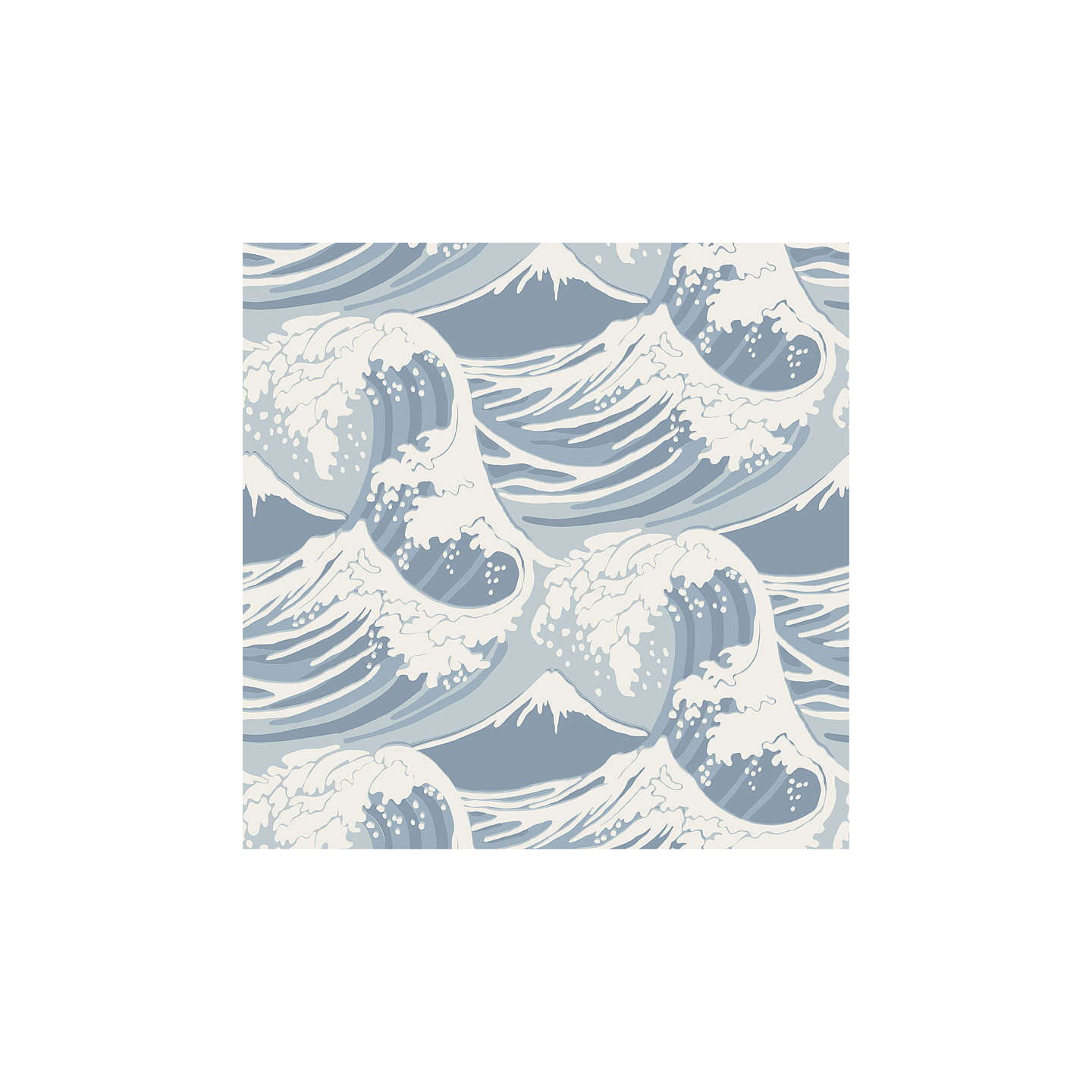 BuyCole & Son Great Wave Wallpaper, 89/2007 Online at johnlewis.com