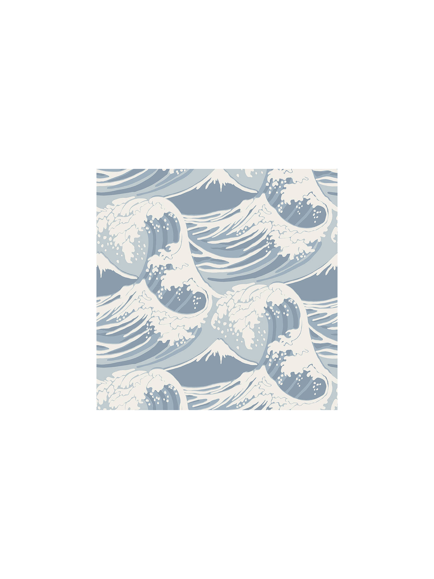 f159d012a34b8 Buy Cole & Son Great Wave Wallpaper, 89/2007 Online at johnlewis.com