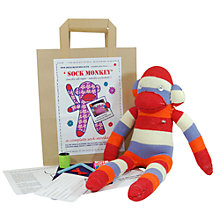 Buy Sock Creatures Sock Monkey Kit Online at johnlewis.com
