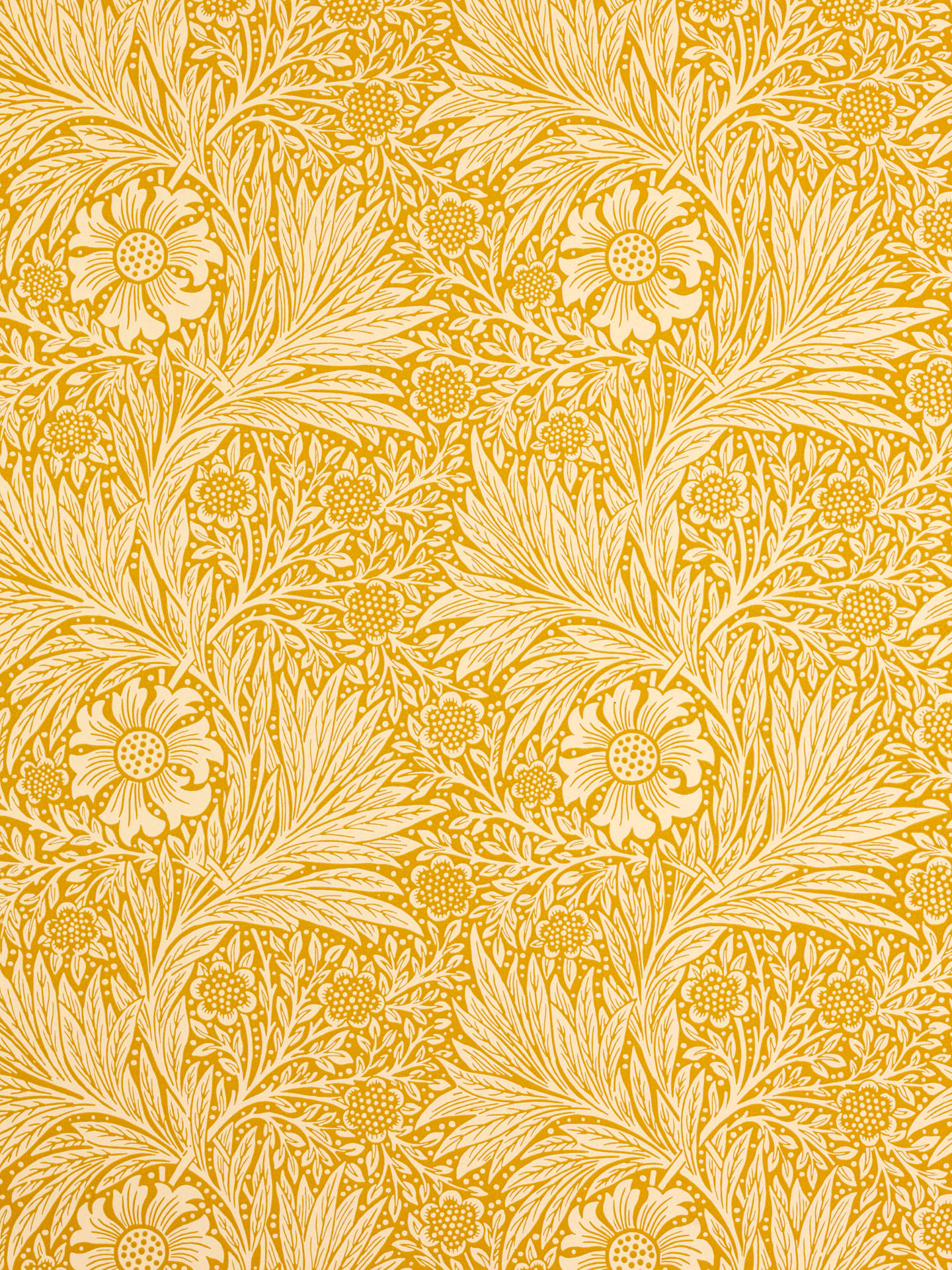 Buy Morris & Co. Marigold, Cowslip, 210370 Online at johnlewis.com