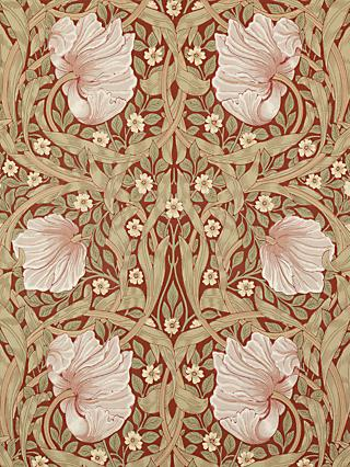 Morris & Co. Pimpernel Wallpaper