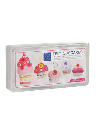 Buy Paper and String Cupcakes Craft Kit Online at johnlewis.com