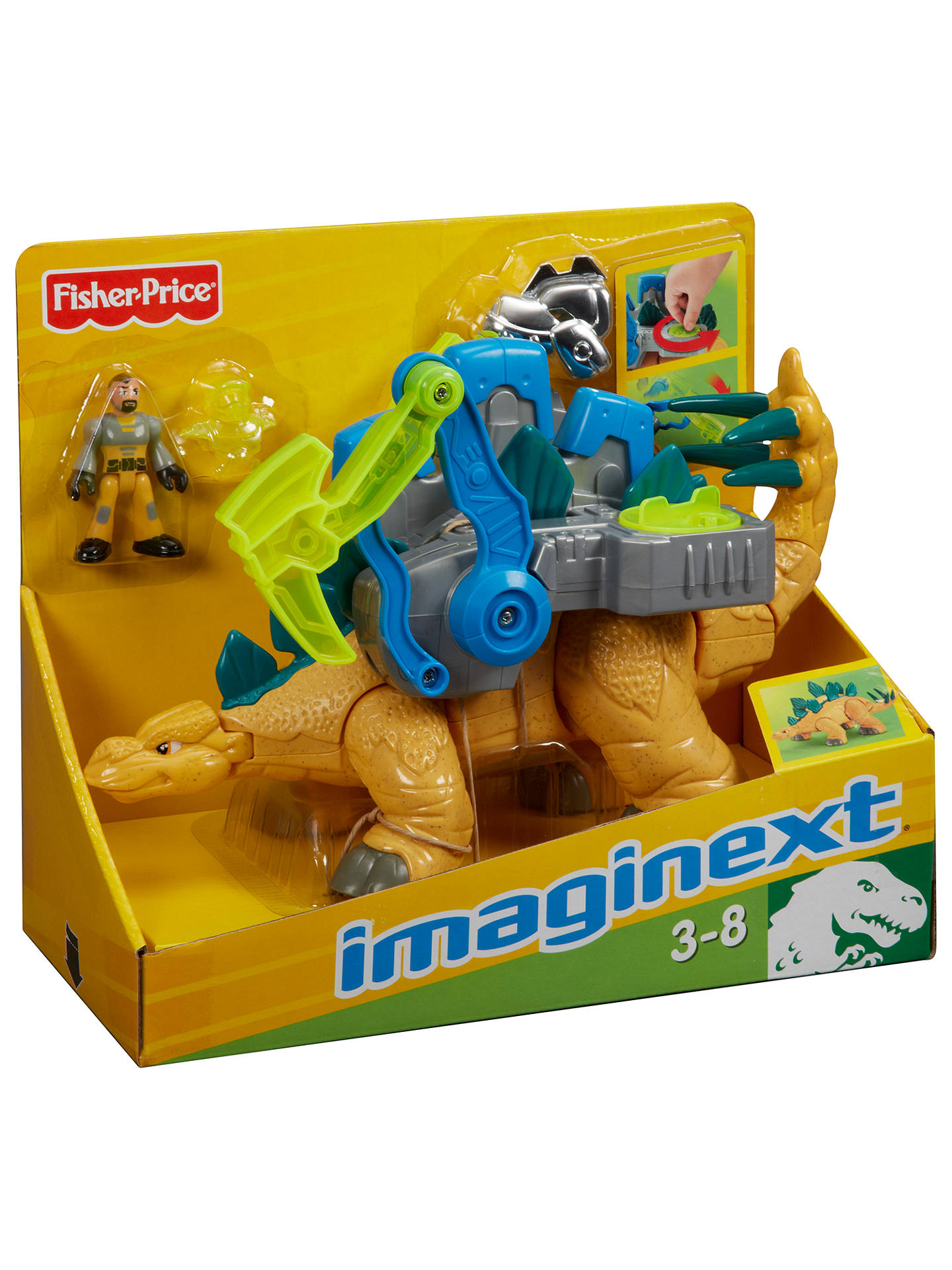 ff065390747 Fisher-Price Imaginext Dinosaur Deluxe, Assorted at John Lewis ...