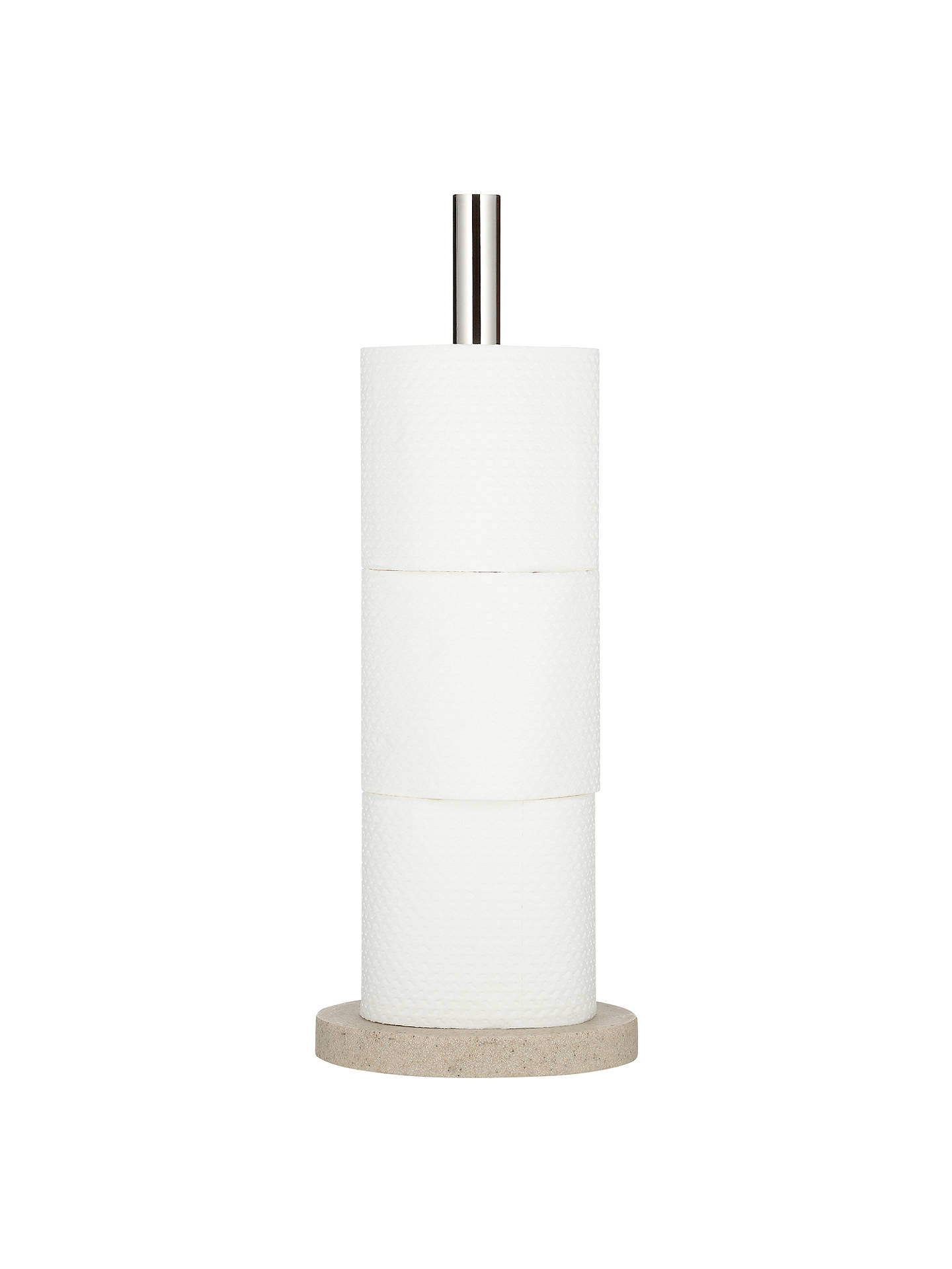 BuyJohn Lewis & Partners Dune Large Toilet Roll Tidy, Sandstone Online at johnlewis.com