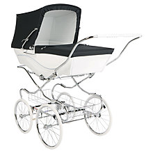 Buy Silver Cross Kensington Pram, White Online at johnlewis.com